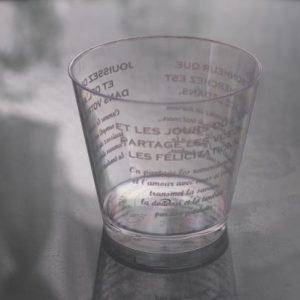 カップケーキ用プラスティックカップ