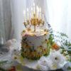 ナイフフラワーケーキ作品例