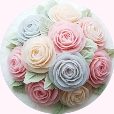 flower cake. kumi